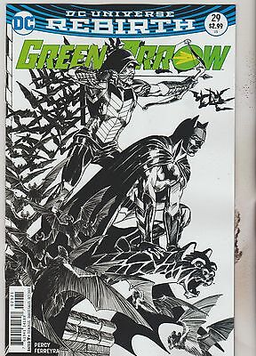 Dc Comics Green Arrow #29 October 2017 Rebirth Variant 1St Print Nm