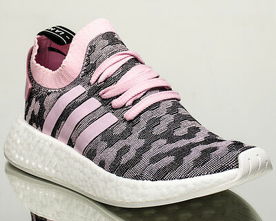 649f1e7abe354 adidas Originals WMNS NMD R2 Primeknit women lifestyle sneakers pink BY9521