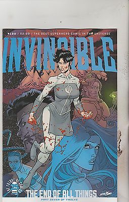 Image Comics Invincible #139 August 2017 1St Print Nm