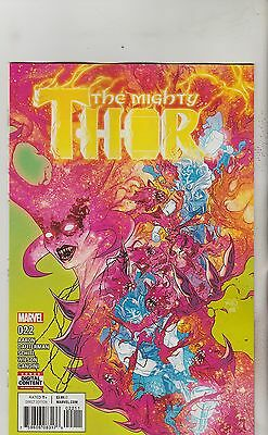 Marvel Comics Mighty Thor #22 October 2017 1St Print Nm