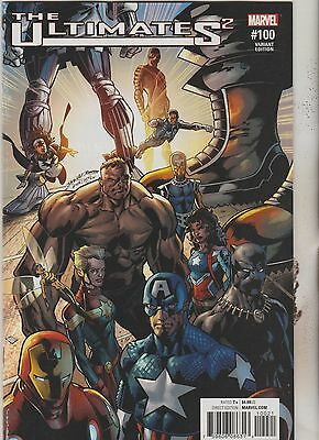 Marvel Comics Ultimates 2 #100 October 2017 Bagley Variant 1St Print Nm