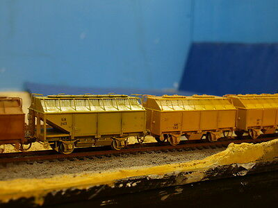 """VR / VLINE HO Scale Twin Pack GH wagon body kits with cut out ends.  """"RARE""""....."""