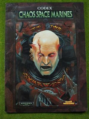 Warhammer 40k Codex Chaos Space Marines, alte Edition 2000