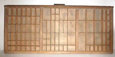 PRINTERS TRAY, vintage typesetter print tray/drawer, great condition
