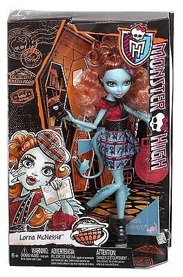 Monster High Monster Exchange Student Lorna Mcnessie Doll Brand New Cdc36