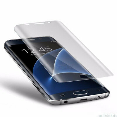 100% GENUINE TEMPERED GLASS FILM SCREEN PROTECTOR FOR Samsung Galaxy S6 S7 EDGE