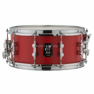 "Sonor Sonor - SQ1 Snare Drum 14""x6,5"" Hot Rod Red"