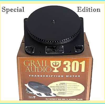 Garrard 301 Turntable Fully Restored Special Edition 'Sable'  by Audio Grail