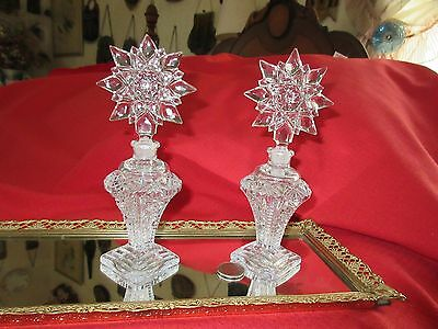 Vintage Perfume/cologne Bottles Matching Pair  French??