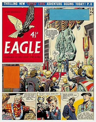 Original Artwork by Frank Hampson. Rogue Planet from Eagle 8/6 1957