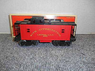 Lionel #26565 Employee Caboose (LS)