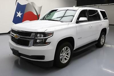 2017 Chevrolet Tahoe LT Sport Utility 4-Door 2017 CHEVY TAHOE LT 8PASS HTD SEATS NAV REAR CAM 22K MI #116707 Texas Direct