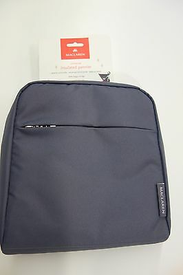 $40 NWT Maclaren Charcoal Insulated Pannier Bag