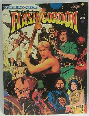 Flash Gordon The Movie, Comic Adaptation by Golden (1980), Damaged