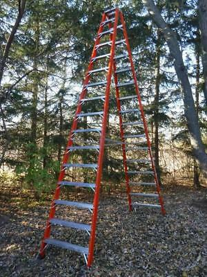 NEW Louisville Ladder FM1416HD 16 Foot 375lb Rated TWIN Step A-frame !!!