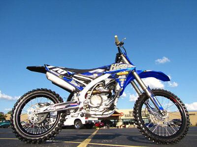 2015 Yamaha YZ YZ-250F 2015 YAMAHA YZ250F BEAUTIFUL STOCK CONDITION 30 HOURS GRAPHICS KIT $4,895.00
