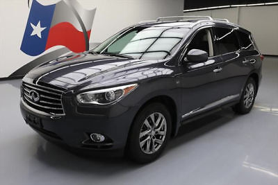 2014 Infiniti QX60 Base Sport Utility 4-Door 2014 INFINITI QX60 PREM PLUS SUNROOF NAV 360-CAM 44K MI #520817 Texas Direct