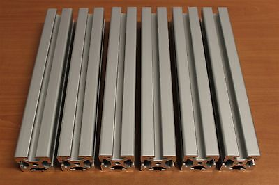 80/20 Inc T-Slot Aluminum Extrusion 40 Series 40-4040 Lot DY (6pcs)