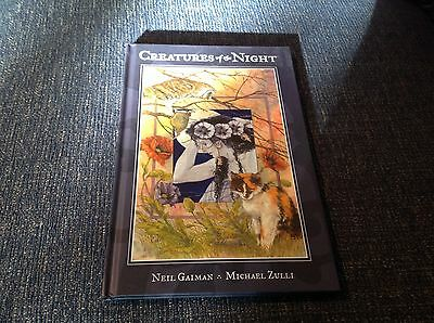 Creatures Of The Night by Neil Gaiman Michael Zulli HB first edition