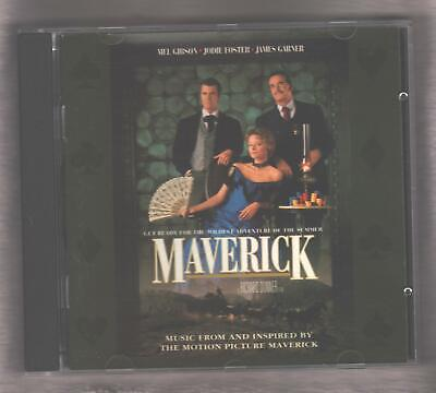Maverick Original Soundtrack CD 1994 Vince Gill Carlene Carter Clint Black