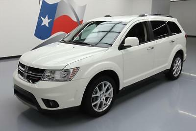 """2014 Dodge Journey Limited Sport Utility 4-Door 2014 DODGE JOURNEY LIMITED HTD LEATHER 19"""" WHEELS 36K #310004 Texas Direct Auto"""