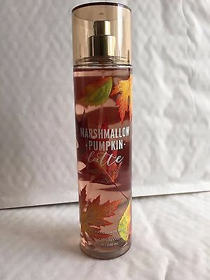 Bath & Body Works MARSHMALLOW PUMPKIN LATTE Fine Fragrance Mist 8 oz / 236 mL