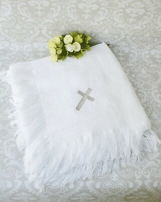 New Christening Ava Embroidered Shawl