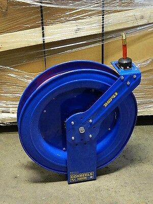 "CoxReels Spring Retractable Hose Reel 75 Ft. x 1/2"" I.D. 300 psi EZ-SH-475"