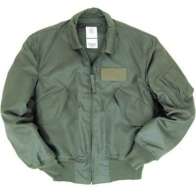 Blouson Bombers CWU-45 Heavy Sage Green Flight Jacket Taille L