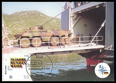 BUND MK 2005 BUNDESWEHR PANZER PRIVATE !! MAXIMUMKARTE MAXIMUM CARD MC CM cc84