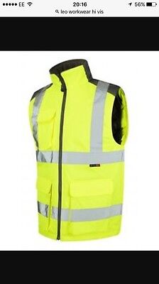 Leo Workwear HIGH VIS Padded New