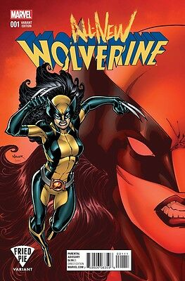 All New Wolverine 1 Todd Nauck Bam Books A Million Fried Pie Variant Sold Out