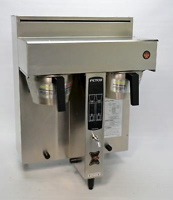 Fetco CBS-2032e EXTRACTOR Dual Twin Coffee Brewer Commercial Machine Water Tap