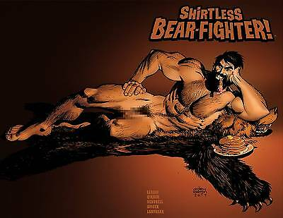 Shirtless Bear-Fighter #3 (Of 5)  Variant 1:15 Image Comics!
