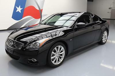 2014 Infiniti Q60  2014 INFINITI Q60 JOURNEY COUPE REAR CAM HTD SEATS 34K #110340 Texas Direct Auto