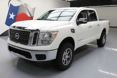 2017 Nissan Titan  2017 NISSAN TITAN SV CREW 4X4 6-PASS BLUETOOTH 9K MILES #508837 Texas Direct