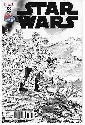 Star Wars #33 SDCC 2017 Previews Exclusive Variant Cover Marvel NM HOT!