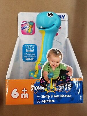 Tomy Stomp & Roar Dinosaur Baby Rattles - E72352 - SHAKE TO HEAR ROAR!
