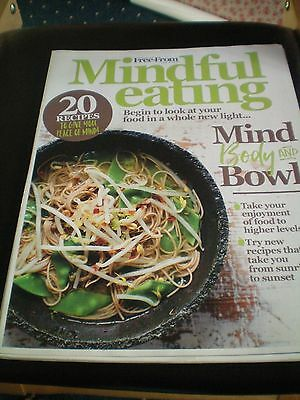 Free From Heaven ,,mindful Eating Recipe Leaflet...vgc