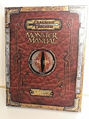 Monster Manual: Core Rulebook Iii V.3.5 (Dungeons & Dragons Core Rulebooks)