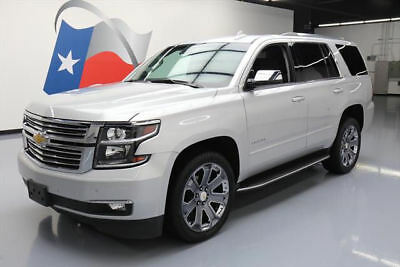 2016 Chevrolet Tahoe LTZ Sport Utility 4-Door 2016 CHEVY TAHOE LTZ 4X4 7-PASS NAV REAR CAM 22'S 34K #262541 Texas Direct Auto