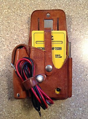 Gas Lamp Tester, Beha Lt 277, Leather Pouch, Antenna, Probes, Leads, Clips Exc