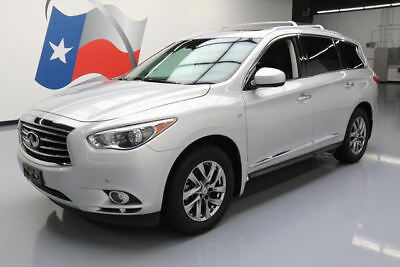 2014 Infiniti QX60 Base Sport Utility 4-Door 2014 INFINITI QX60 PREM PLUS SUNROOF NAV DVD 7-PASS 47K #523804 Texas Direct