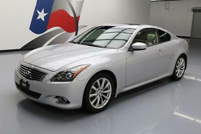 2012 Infiniti G37  2012 INFINITI G37 JOURNEY COUPE PREMIUM SUNROOF 44K MI #423960 Texas Direct Auto