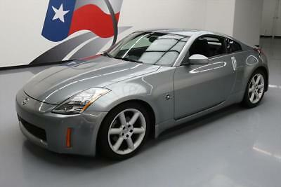 "2005 Nissan 350Z  2005 NISSAN 350Z 6-SPEED XENON LIGHTS 18"" WHEELS 35K MI #604219 Texas Direct"