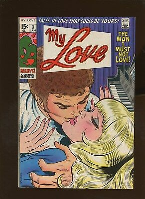 My Love 3 VF+ 8.5 * 1 Book Lot * John Romita Cover!!!