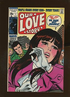 Our Love Story 1 VF+ 8.5 * 1 Book Lot * John Romita Cover!!! Lee & Buscema!!!