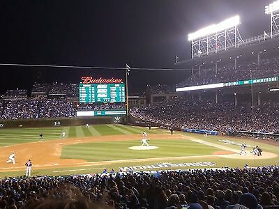 2x Terrace Preferred Seats Cubs vs Pirates at Wrigley Field on August 28, 2017