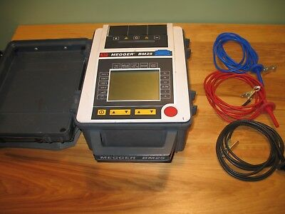 Megger BM25 5kV Digital Insulatio Tester with test leads. Great Condition