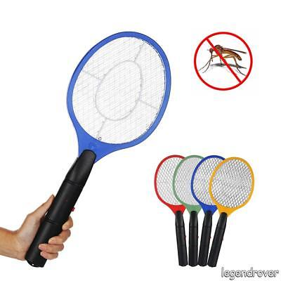 Electric Zapper Killer Bug Insect Racket Swatter Mosquito Wasp Trap Swat Racket